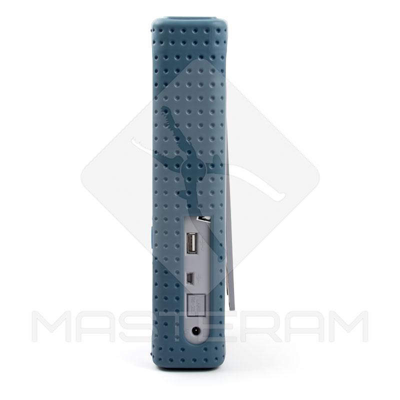 Интерфейсы USB и вход питания цифрового осциллографа Hantek DSO8060