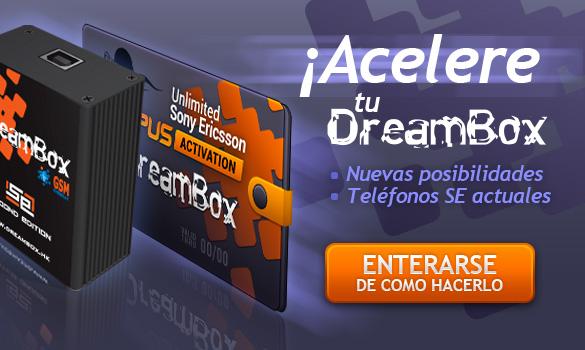 ¡Acelere tu DreamBox!