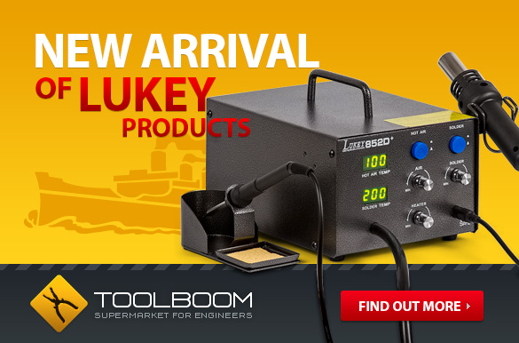 New Arrival of Lukey Products