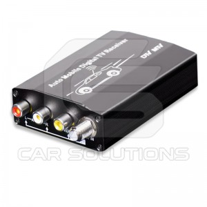 Car digital ISDB-T receiver with PVR function
