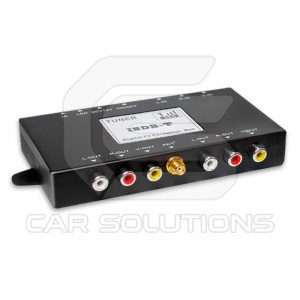 Car digital ISDB-T receiver
