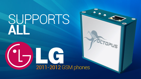 Octopus Box - Support for All Current LG GSM phones