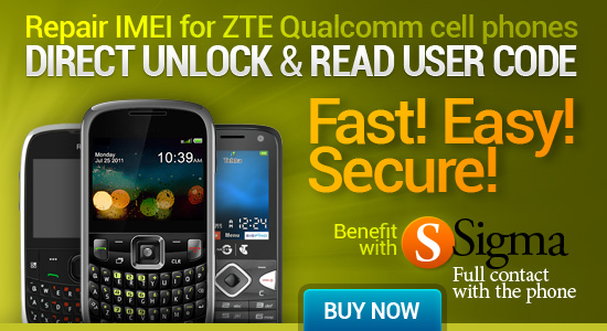 Repair IMEI for Qualcomm-based ZTE