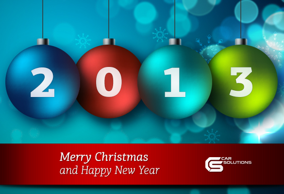 Merry Christmas and Happy New Year from Car Solutions
