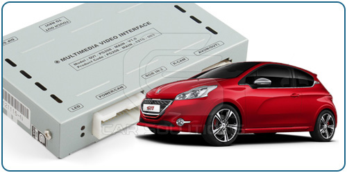 Car Video Interface for Peugeot 208