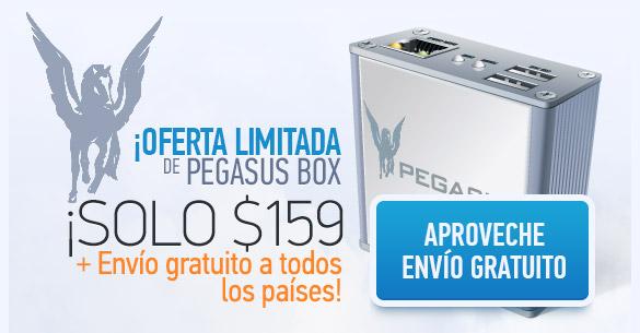 ¡Oferta limitada de Pegasus Box!
