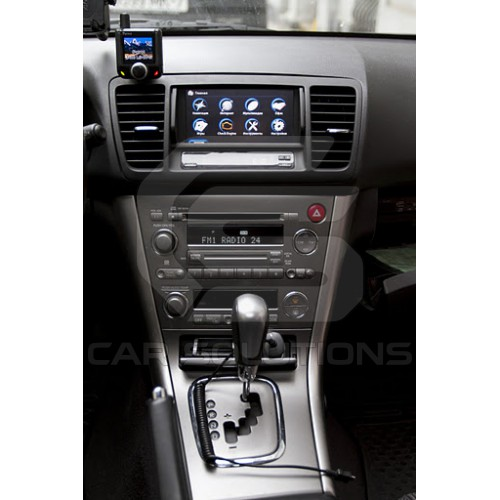 CS9100 navigation box installation in Subaru Outback