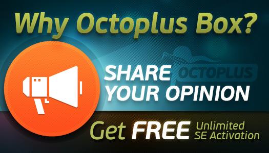 Octoplus - is my choice!