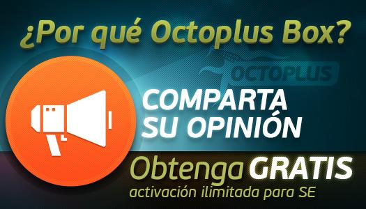 Octoplus é a minha eleição!
