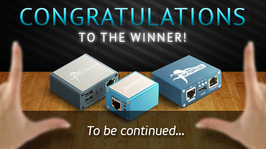 Congratulations to Our Winner