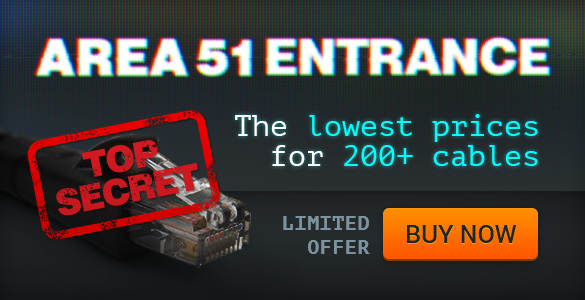 AREA 51 ENTRANCE - Get the lowest prices on 200+ cables! width=