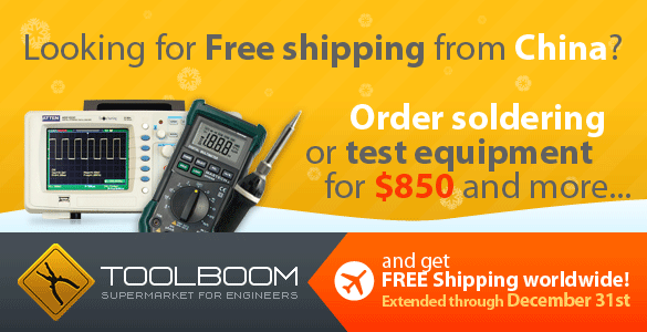 Free Shipping for Measuring and Soldering Equipment