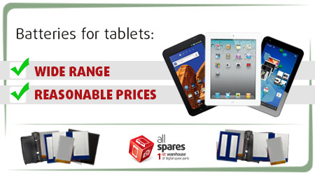 Batteries for Tablets