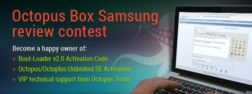 Octopus Box Samsung Review Contest