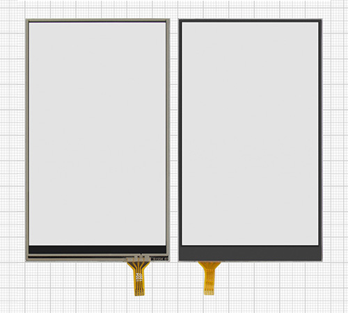 resistive touchscreen