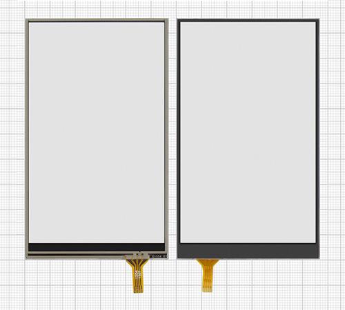 сенсорный экран резистивного