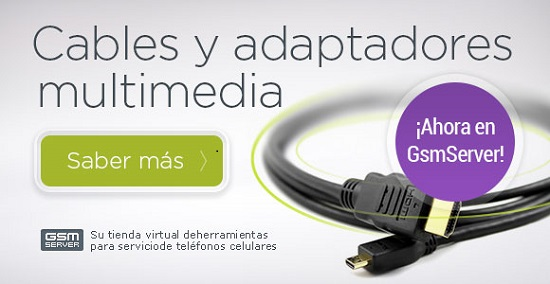 ¡Cables y adaptores multimedia!