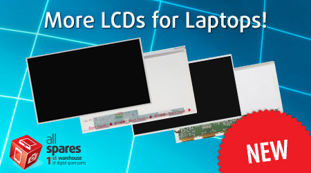 More LCDs for Laptops!