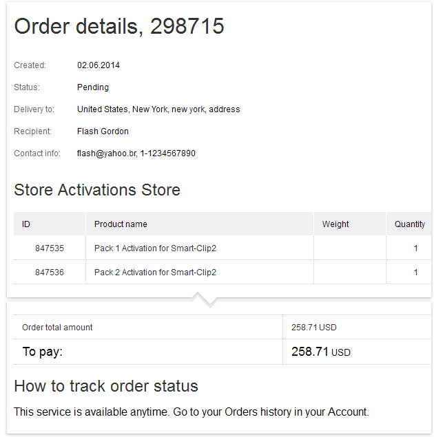 How to Shop: View order summary