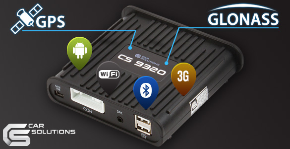 Cs9320 Navigation Box On Android Gps And Glonass In Stock