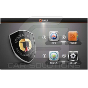 Navigation system for VW, Audi, Skoda, Seat