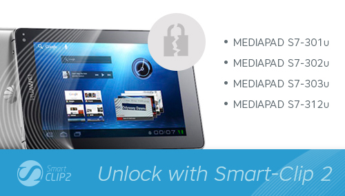 World's first unlock for Huawei Mediapad S7