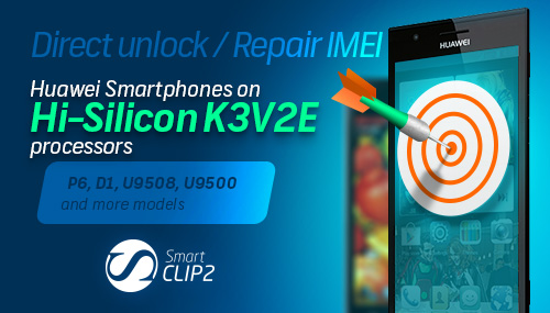 Smart-Clip2 Support for Hi-Silicon K3V2E based smartphones