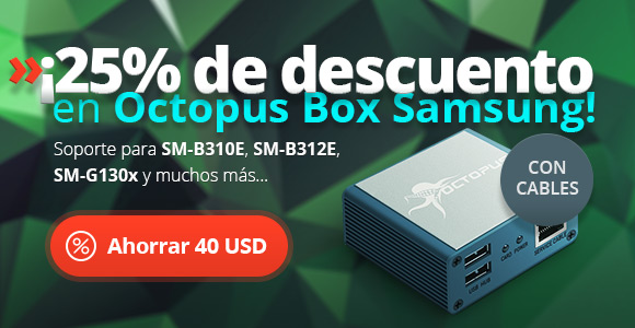 Octopus Box Samsung -25%