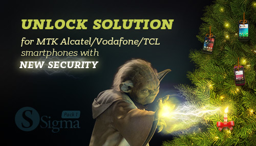 Yoda unlock  solution for MTK Alcatel / Vodafone / TCL smartphones