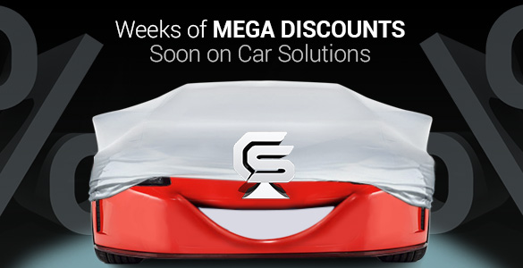 Weeks of mega discounts on Car Solutions
