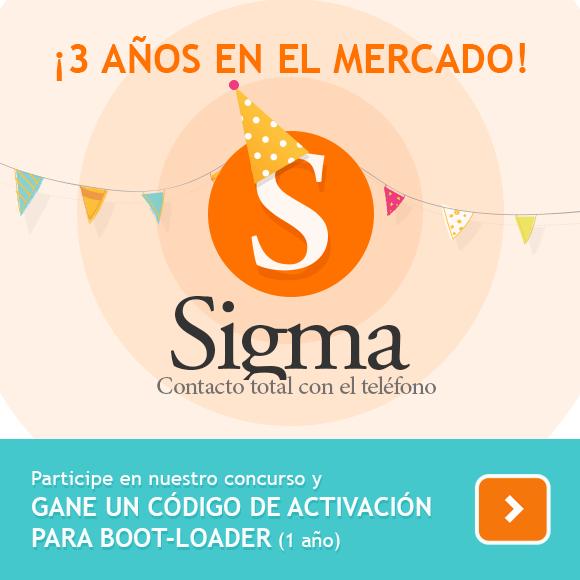 ¡Celebre el tercer aniversario de Sigma y gane un código de activación para Boot-Loader!