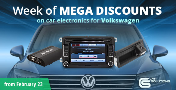 Discounts on Volkswagen gadgets will soon start