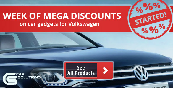 Discount on Volkswagen electronics
