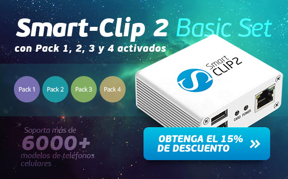 Smart-Clip 2 Basic Set con activados Pack 1, 2, 3, 4