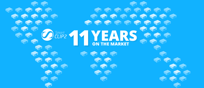Smart-Clip Celebrates 11 Years on the Market!
