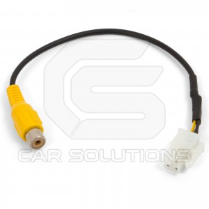 Cable for Rear View Camera Connection to Subaru OEM Monitors
