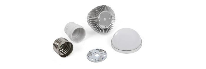 LED light bulb DIY kit