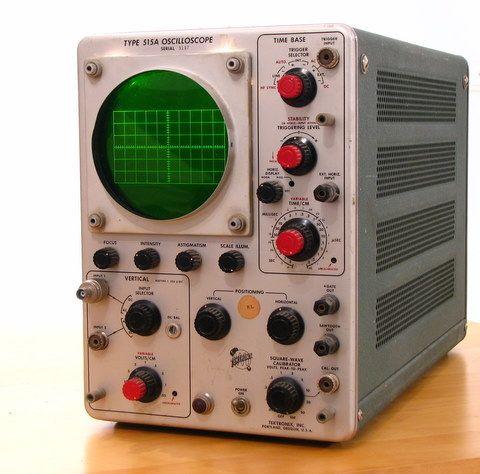 Analog oscilloscope