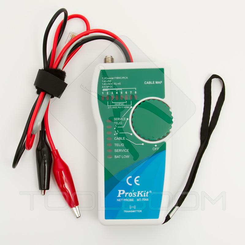 Transmisor del probador de redes de telecomunicaciones ProsKit MT-7068