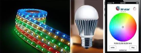 Spherical LED Bulb and Light Bar