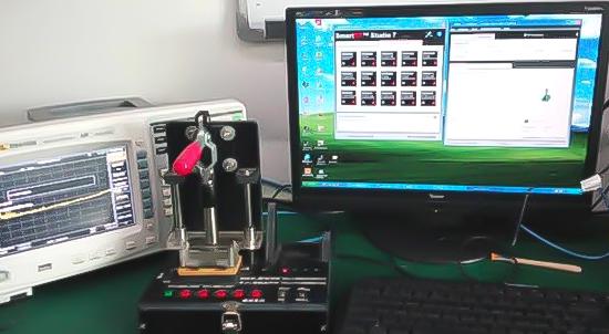 Модуль лампи з дистанційним керуванням (тестування перед введенням в експлуатацію)