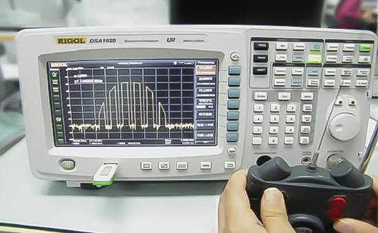 Іграшка з дистанційним керуванням (тестування перед введенням в експлуатацію)