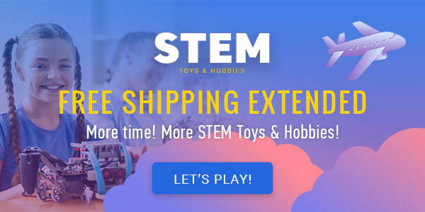 Free shipping on STEM toys extended