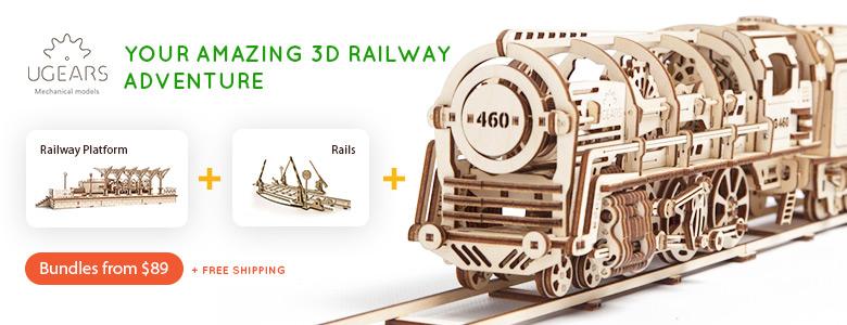 Your Amazing 3D Railway Adventure