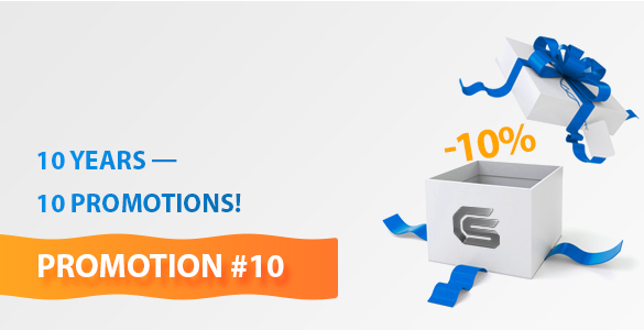 Promotion #10: Discounts on All Products in Our Stock!