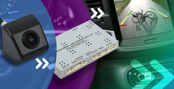 Новые видеоинтерфейсы для Cadillac, Jeep и Mazda