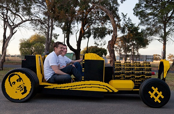 LEGO и транспорт