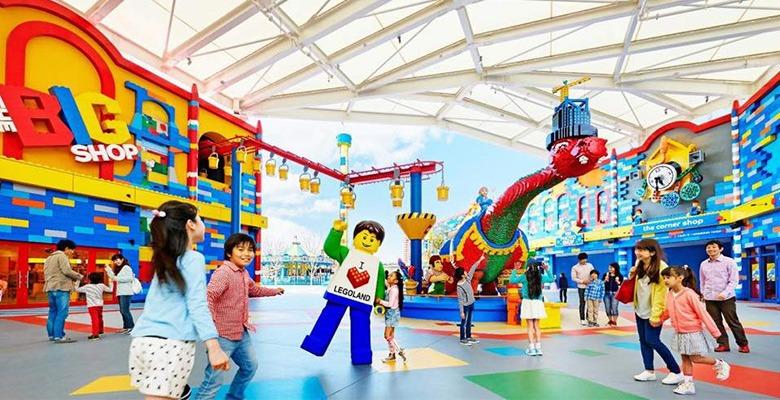 LEGO и города