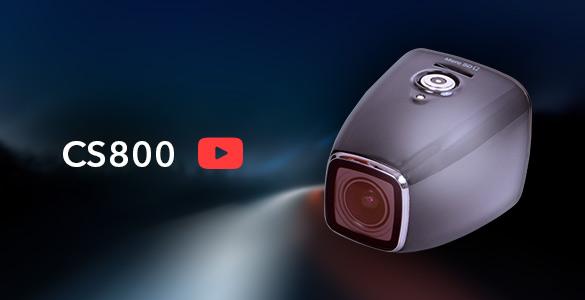 Обзор новейшего видеорегистратора с магнитным креплением CS800