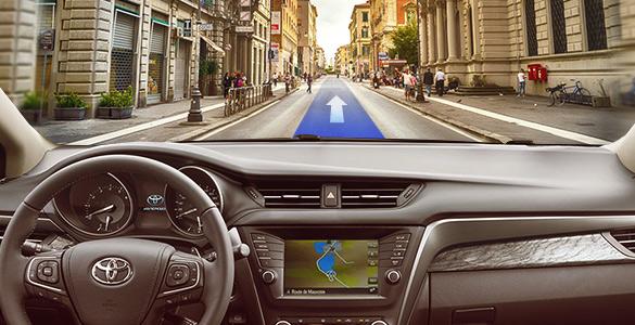 GPS-навигация на Android: вашей Toyota понравится!